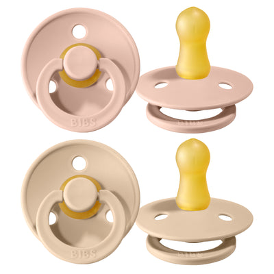 Schnuller 'Bibs' 2er-Pack in Blush & Vanilla