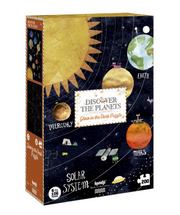 Leucht-Puzzle 'Discover Planets'