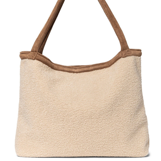 Studio Noos Mombag 'Teddy lammy' in beige