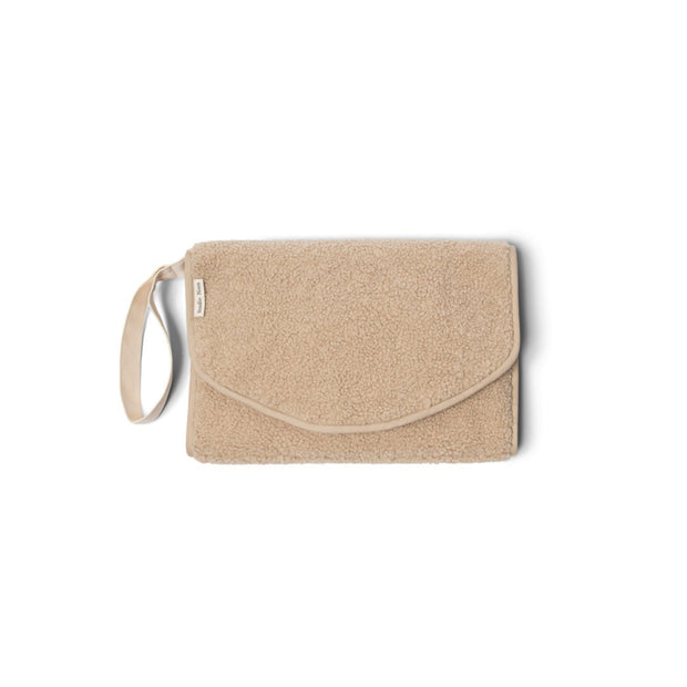 Studio Noos Wickelunterlage 'Chunky changing mat' in teddy beige