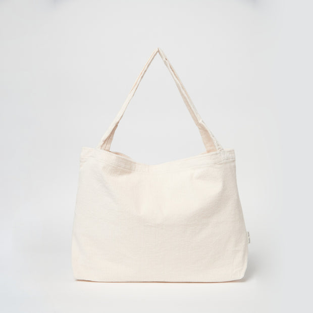 Studio Noos Mombag 'Rib' in off-white