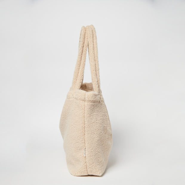 Studio Noos Mombag 'Teddy' in beige