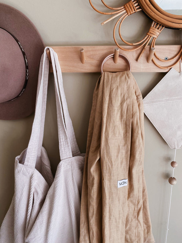 Ring Sling 'Moon' in nude