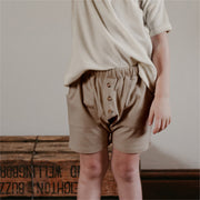 Shorts in dunkelbeige