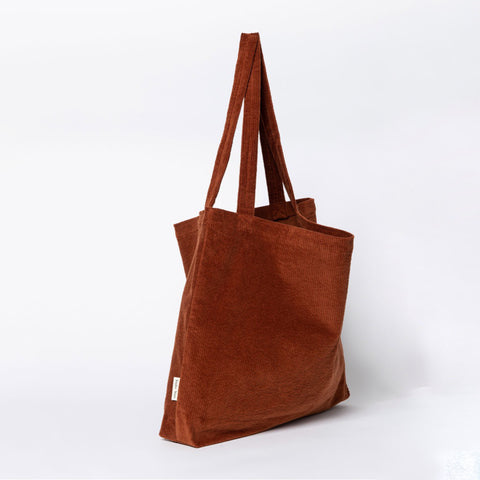 Studio Noos Mombag 'Rib' in rusty