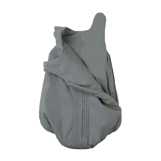 Schlafsack 'Forest pleats' in grau