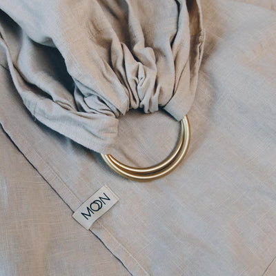 Ring Sling 'Moon' in stone