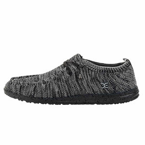 WALLY KNIT BLACK WHITE