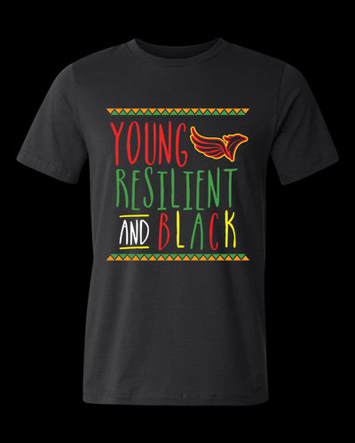 Young, Resilient and Black T-Shirt
