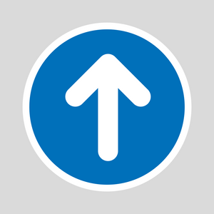 Round Directional Arrows