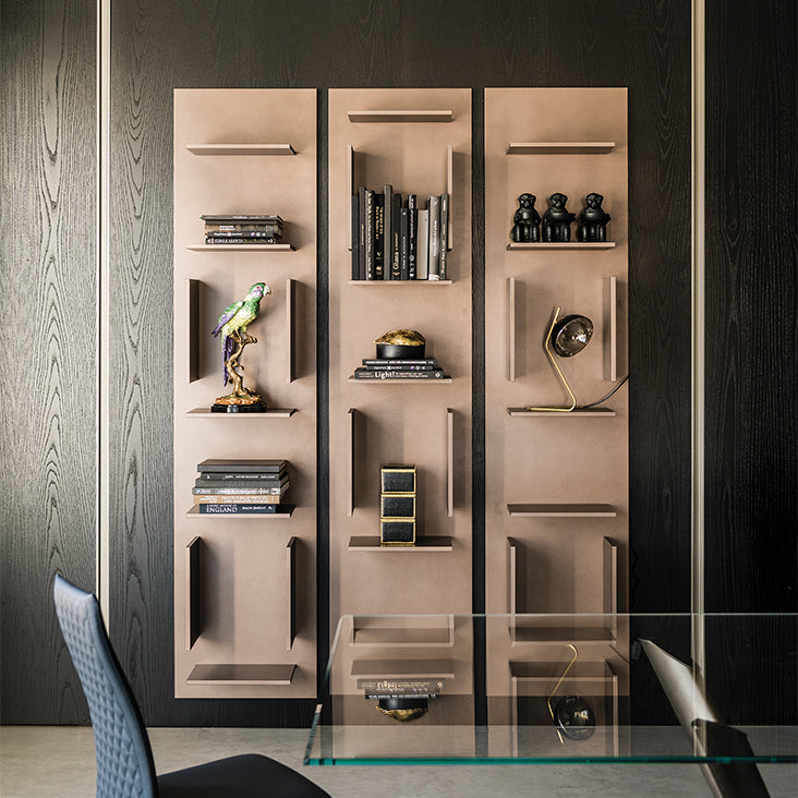 FIFTY BOOKCASE-BRONZE