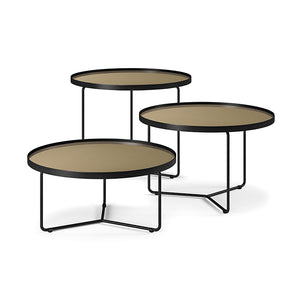 BILLY TABLE-BRUSHED BRONZE 60X48