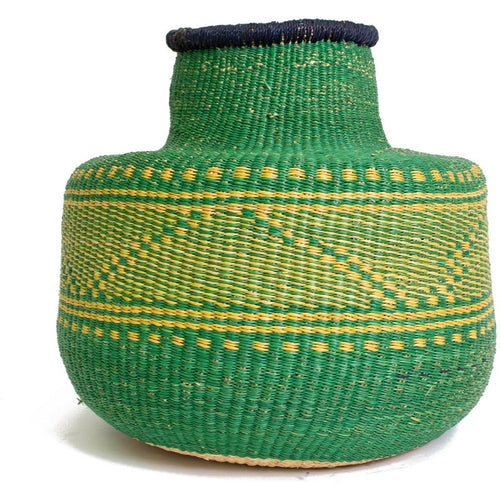 KINGANI GRASS SHORT POT