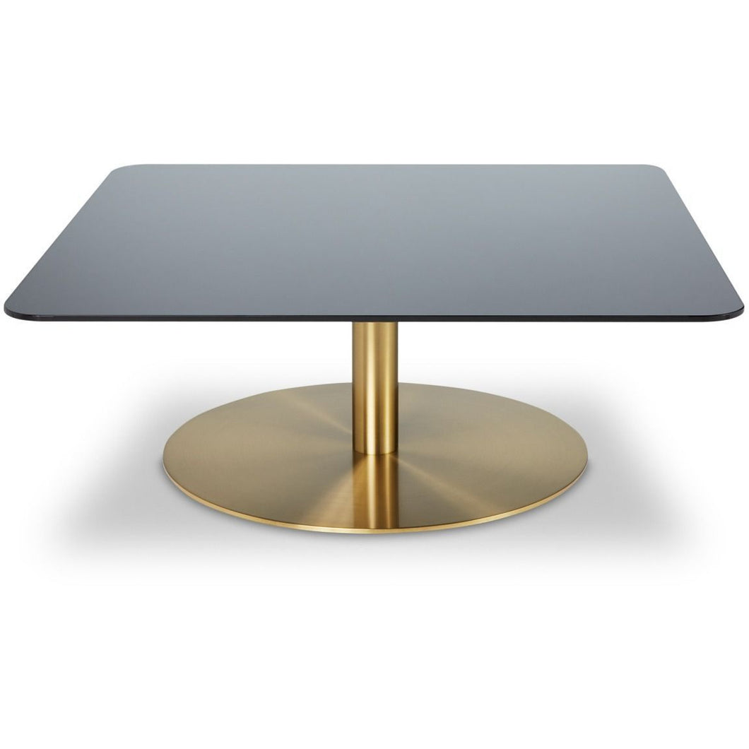 FLASH TABLE SQUARE BRASS