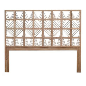 ARA QUEEN HEADBOARD- NATURAL
