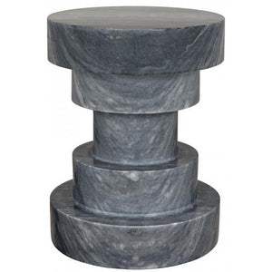 CHANDRA SIDE TABLE, STONE