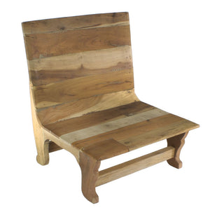 AVALON WOOD CHAIR- NATURAL