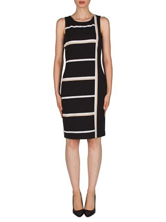 Joseph Ribkoff Sleeveless High Contrast