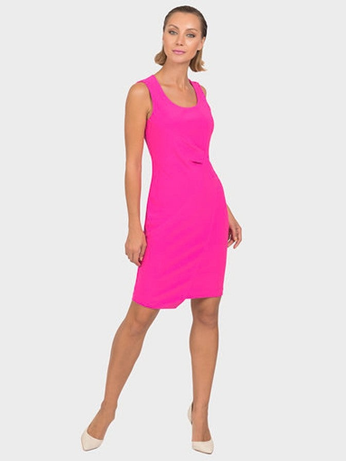 Joseph Ribkoff Pink Seamed Dress
