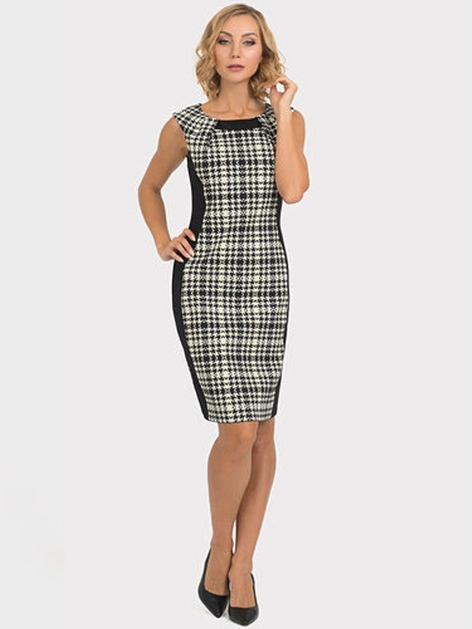 Joseph Ribkoff Plaid 193843 Dress