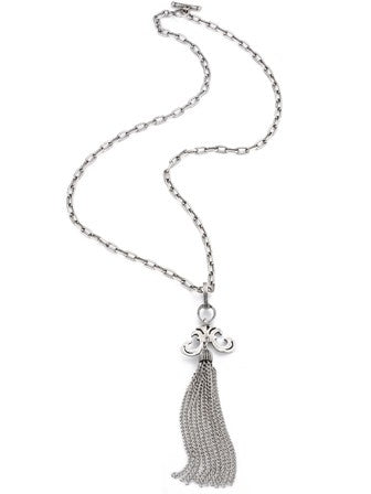 French Kande Long Chain W/Tassel