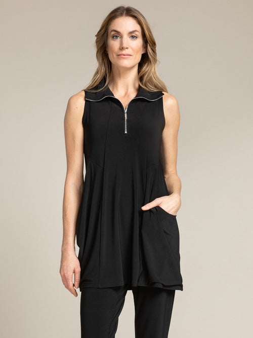 Sympli Sleeveless Double Take Tunic