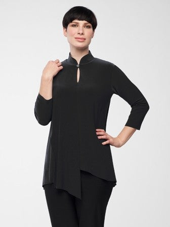 Sympli 3/4 Sleeve Double Over Top