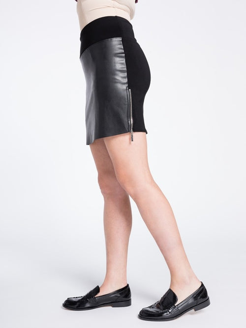 Sympli Frame Mini Skirt