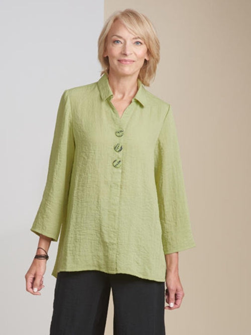 Habitat Tunic Swing Shirt in Fern