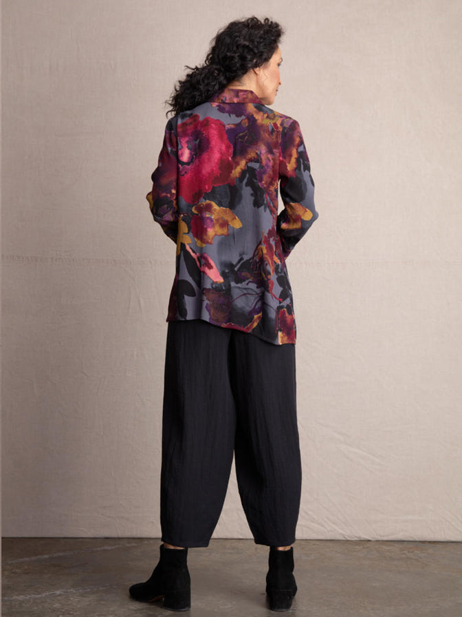 Habitat Autumn Floral Button Up