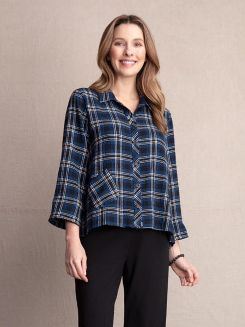 Habitat Plaid Button Up