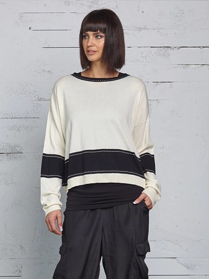 Planet Mini Film Strip Sweater