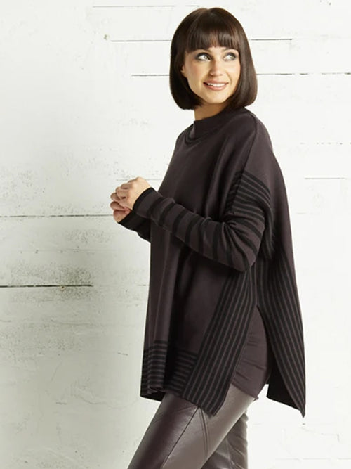 Planet Panel Sweater