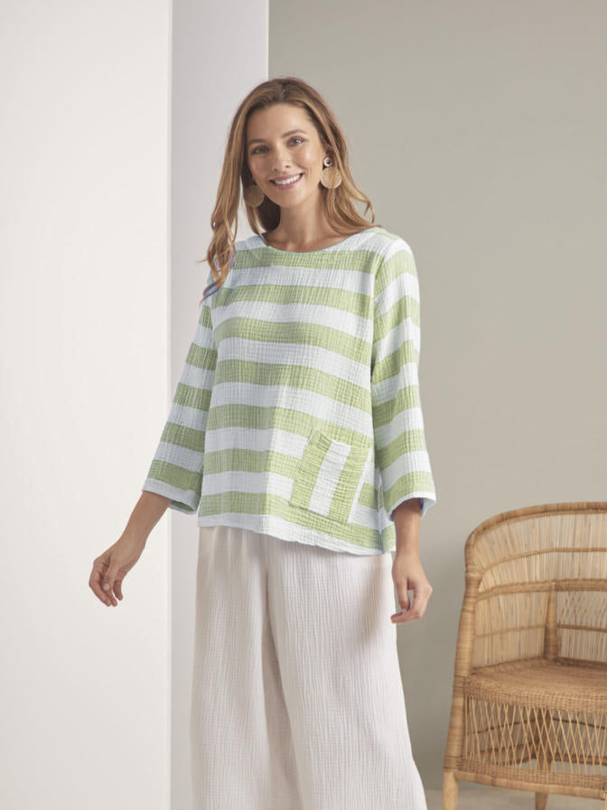 Habitat Stripe Pocket Pullover
