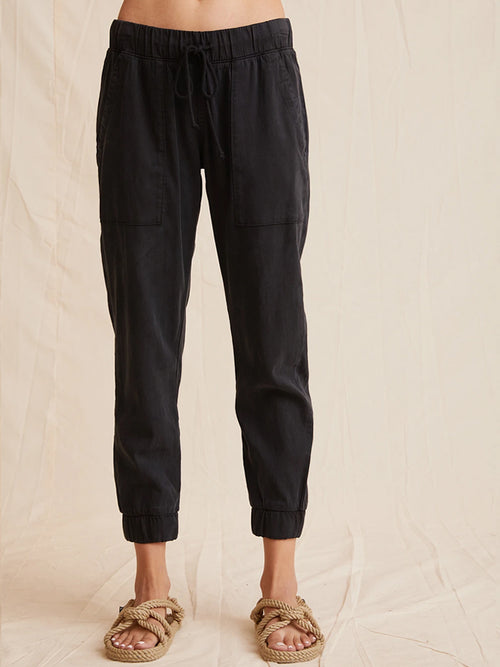 BELLA DAHL POCKET JOGGER BLACK