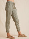 BELLA DAHL POCKET JOGGER OLIVE