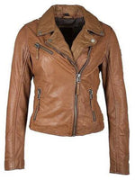 Mauritius Christy RF Star Jacket in Cognac