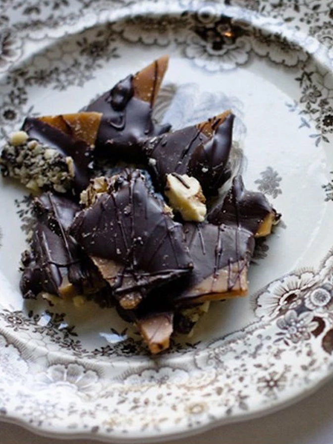 Scamps Toffee Dark Chocolate Toffee Box
