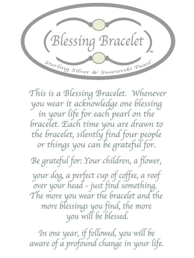 Blessing Bracelet Classic Pearl Stack 8mm beads