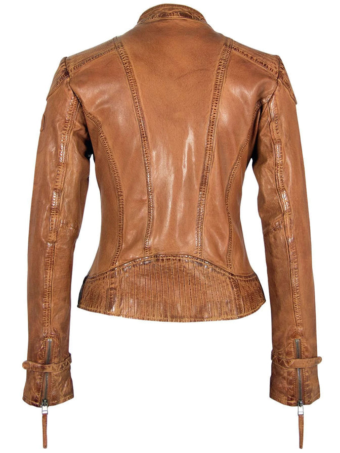 Mauritius Pacey RF Jacket in Cognac
