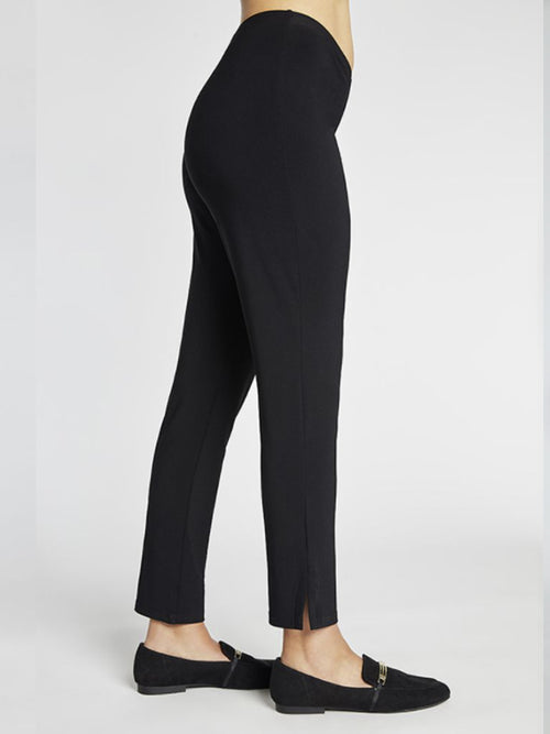 Sympli Lux Narrow Pant Midi Black