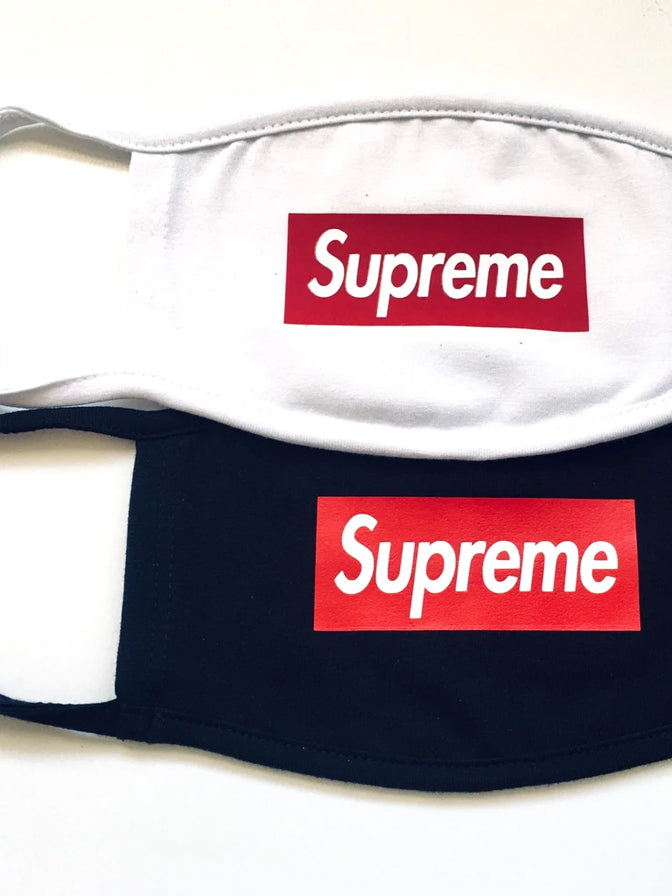 Logo Face Mask Supreme