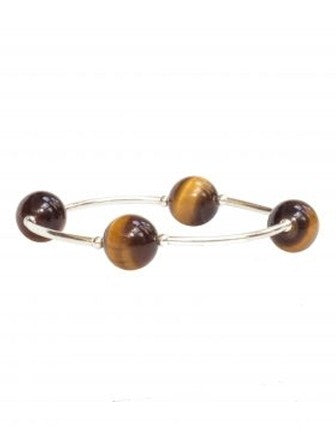 Blessing Bracelet in Tiger's Eye Pearl