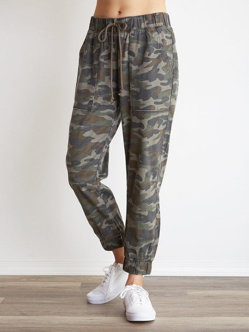 Bella Dahl Pocket Jogger in Vintage Camo