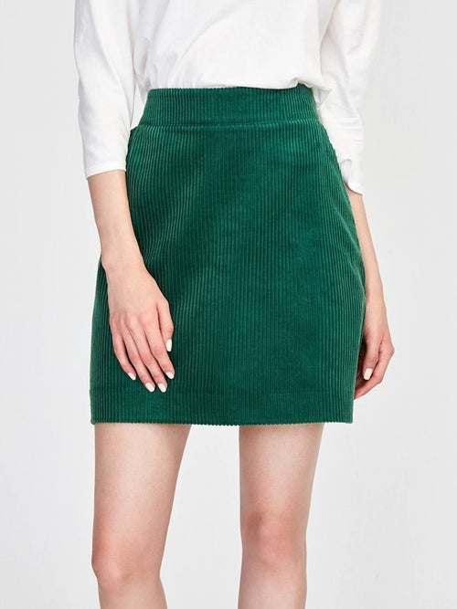 525 America Corduroy Mini Skirt