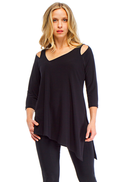 Sympli 3/4 Sleeve Focus Tunic