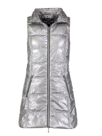 Anorak Metallic Long Vest