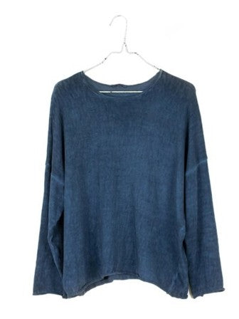 It Is Well LA Boxy Easy Oilwash Sweater