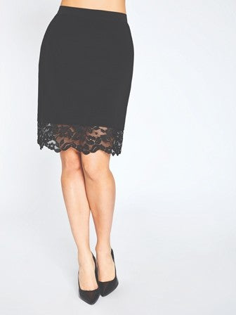 Sympli Lace Reversible Mini Skirt