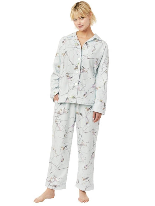 CAT'S PAJAMAS MEADOWLARK FLANNEL PAJAMAS